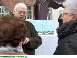 Im Gespräch mit Bürgern